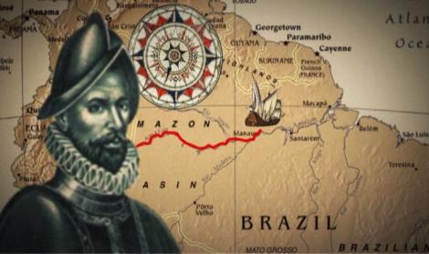 Exploradores, aventureros, viajeros... Orellana